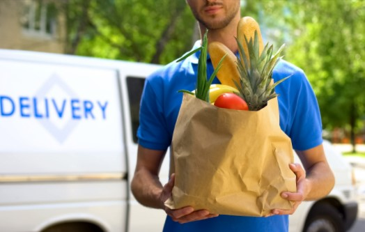 On-demand Grocery delivery service