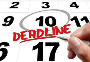 What is the financial aid deadline